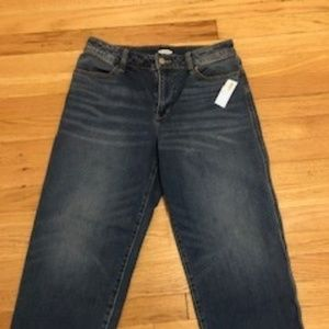 Old Navy High Rise Wide Leg Ankle Jeans